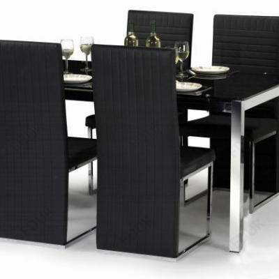 50 New Black Glass Dining Table Graphics