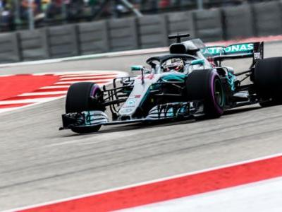 Lewis Hamilton Will Chase His Fifth F1 World Championship From Pole in the U.S. Grand Prix