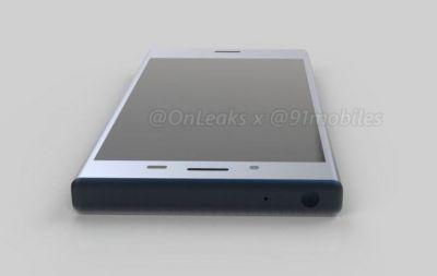 Xperia XZ1 Compact renders are thick like nobody's business
