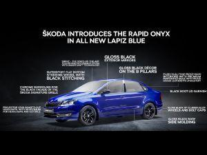 Skoda Rapid Onyx Edition Priced At Rs 975 Lakh Gets New Paint Option