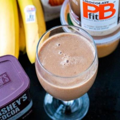 Healthy Chocolate PB Shake