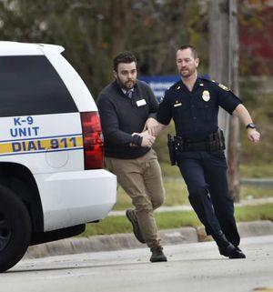 Sheriff: hostages freed, bank robbery suspect in custody