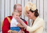 Kate Middleton Smoothly Stopped Prince Louis From Sucking His Thumb During a Royal Event