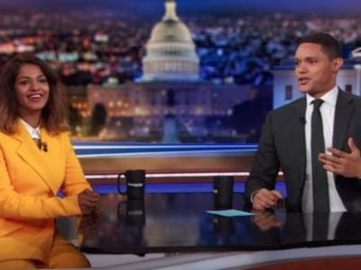 Watch M.I.A. Talk Bob Dylan, Her Different Identities, & Her Documentary On The Daily Show