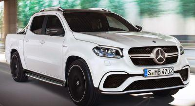 Mercedes-AMG X63 Pickup Is Unlikely Food For Thought