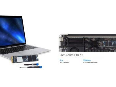 OWC launches new Aura Pro X2 SSD upgrade for Macs up to 2TB at lower price points