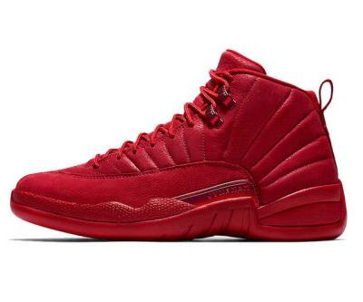 """Air Jordan 12 """"Gym Red"""" Continues the All-Red Trend"""