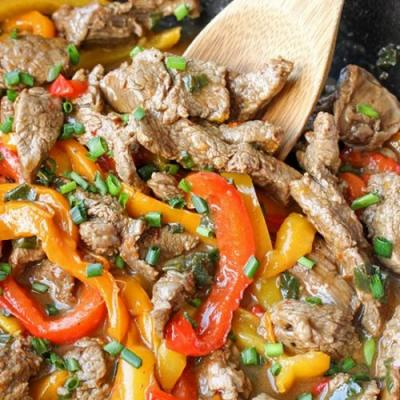 Paleo Whole30 Easy Pepper Steak