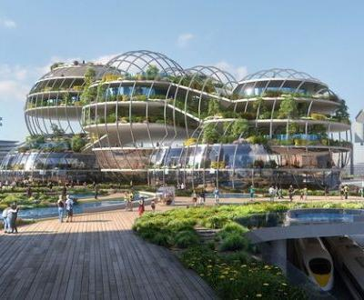 UNStudio Designs a City of the Future for The Hague