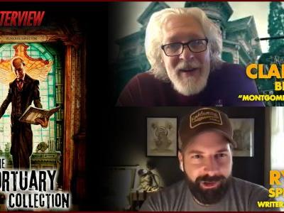 CS Interview: Ryan Spindell & Clancy Brown on The Mortuary Collection