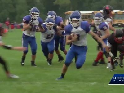 Mollie Tibbetts' brother leads high school football team to win in season opener