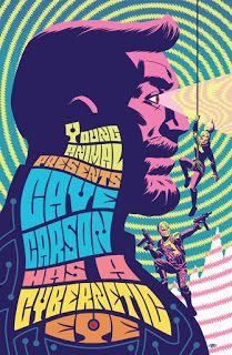 DC Young Animal: Cave Carson Issue 9 Variant Cover
