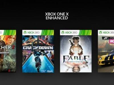 Xbox 360 Games Join Xbox One X Enhanced List