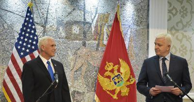 US VP Mike Pence: Balkans future is 'in the West'