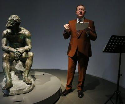 Watch Kevin Spacey Recite a Poem About Himself at a Museum in Rome