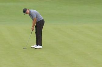 Preston Summerhays sinks an eagle putt from off the green at the 2019 U.S. Junior Amateur Open