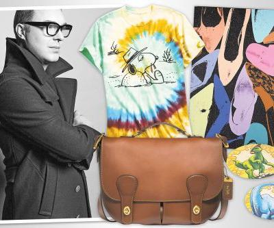 Coach designer Stuart Vevers on his fall essentials - from vintage bags to dinosaur stickers
