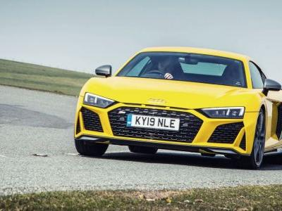 Either Audi Loves The R8's V10 Or Batteries Still Aren't Ready