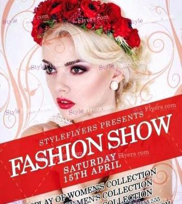 30 Lovely Free Fashion Show Flyer Template Graphics