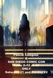 I will be in San Diego Comic Con this weekend