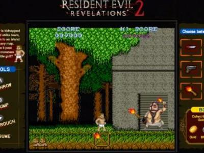 Resident Evil Revelations on Switch Has Exclusive Retro-Style Mini Games