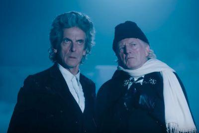 The First and Twelfth Doctors team up in this Doctor Who Christmas special trailer