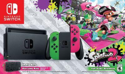 Nintendo announces a Walmart exclusive Splatoon 2 Switch bundle, and we're green with envy