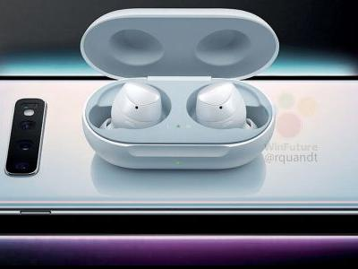 Samsung Galaxy S10 leak shows phone reverse wireless charging 'Galaxy Buds'