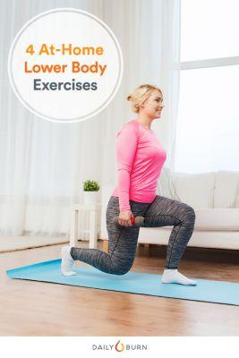 4 Lower Body Exercises You Can Do in Front of Your TV