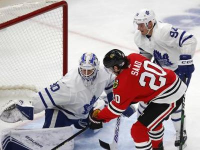 Kane, Lehner lead fast-starting Blackhawks past Maple Leafs