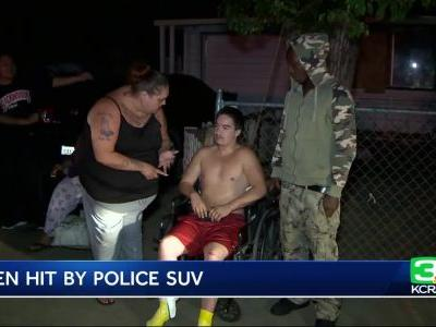 16-year-old hit by Sacramento police SUV released from hospital