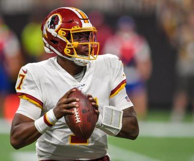 Rookie Dwayne Haskins leads Washington Redskins past fumbling Atlanta Falcons