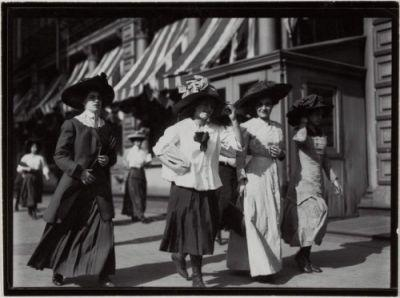Working Girls in the Styles of 1911 by Lewis W. Hine