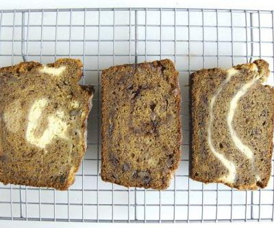 A sweet twist on banana bread