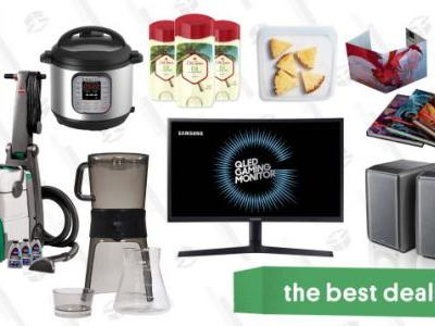 Wednesday's Best Deals: Prime Day Leftovers, Instant Pot, Samsung Monitors, and More