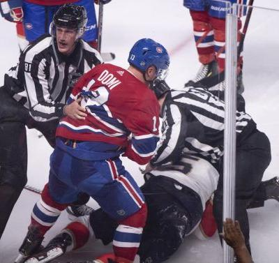 Canadiens' Max Domi given match penalty for 'gutless' suckerpunch against Panthers