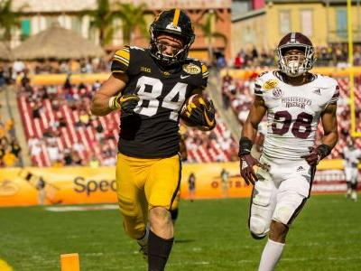 A strange, familiar and impressive Outback Bowl win for Iowa against Mississippi State