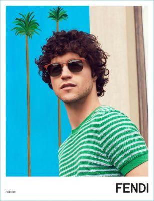 Miles McMillan Embraces Resort-Inspired Style for Fendi's Spring '17 Campaign