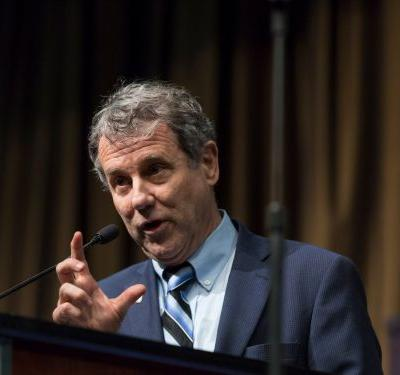 Senator Sherrod Brown rips into Facebook, comparing the social network to a dangerous 'toddler' that keeps committing arson