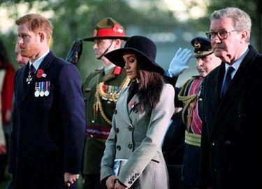 These Photos Of Meghan Markle On Anzac Day Are So, So Emotional