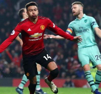 Manchester United 2 Arsenal 2: Lingard earns point but Red Devils stay eighth