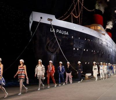 Karl Lagerfeld just put the cruise in Chanel's latest Cruise show