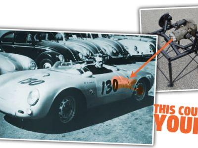 The Transaxle From The Porsche 550 Spyder James Dean Died In Is For Sale