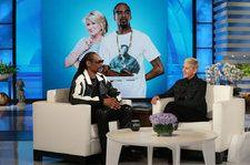 Snoop Dogg Talks Staying at Martha Stewart's House, Plays a Game Of 'Snoop Ball' On 'Ellen': Watch