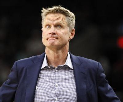 'It's idiotic': Warriors coach Steve Kerr rips NFL's new anthem policy