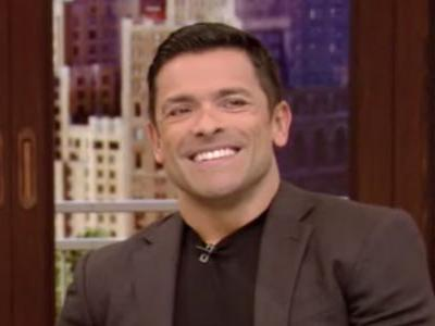 Kelly Ripa's Husband Mark Consuelos Told A Wild Sex Story While Guest-Hosting For Ryan Seacrest