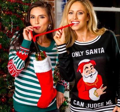 This quirky 'Shark Tank' alum makes ugly Christmas sweaters you'll actually want to wear