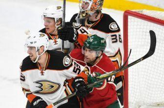 Gibson makes 37 saves to help Ducks beat Wild 1-0