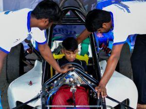Tijil Rao Gives Clubfoot The Foot To Become National Racer