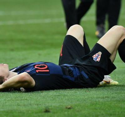 England the biggest winners as exhausted Croatia edge out raucous Russia